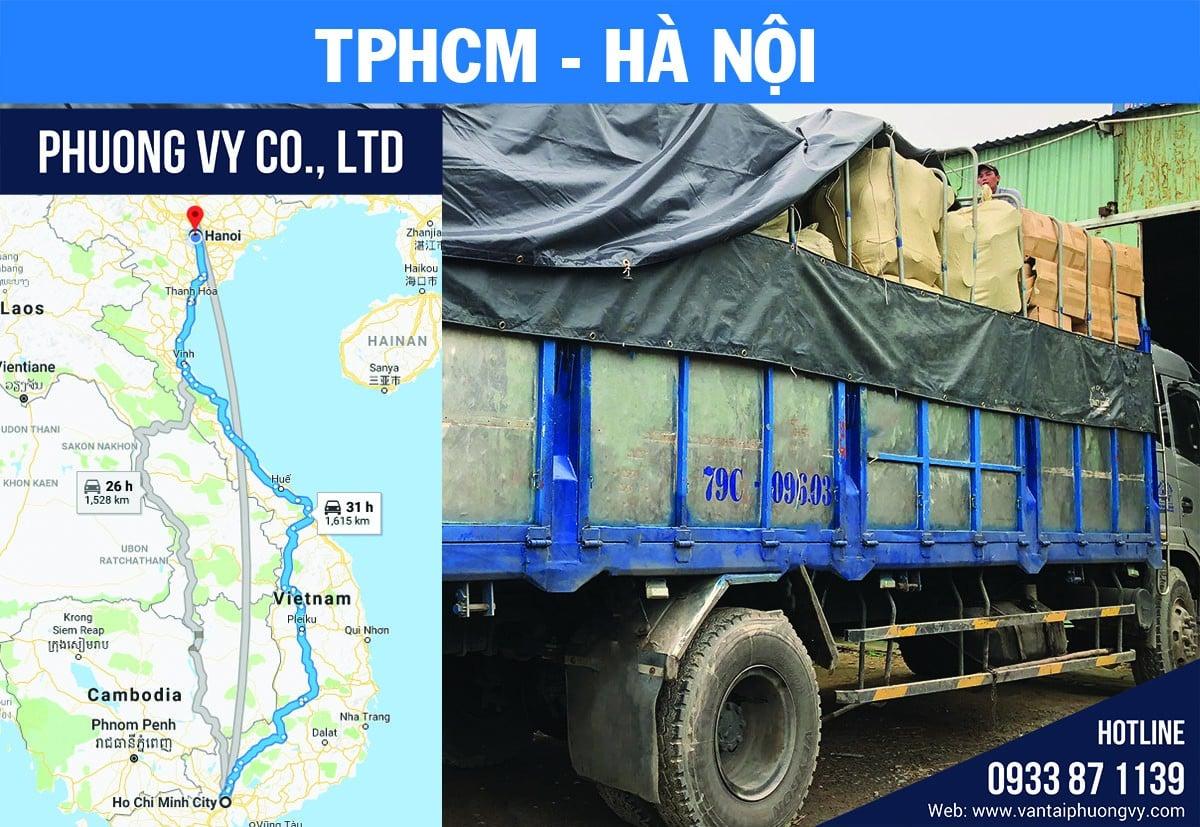 chuyển hàng đi hà nội từ tphcm