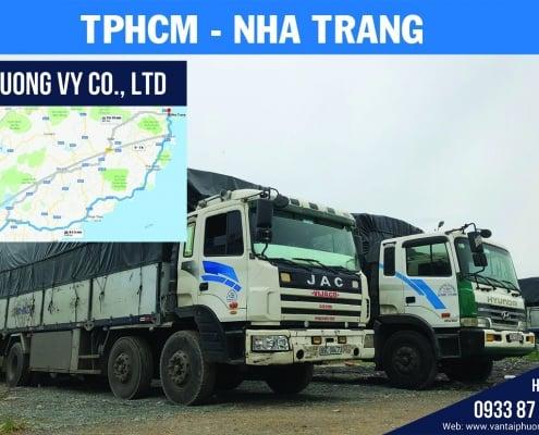 chành xe gửi vận chuyển hàng hóa đi nha trang từ tphcm