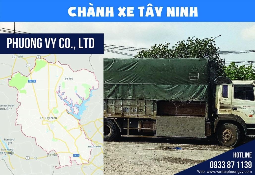 Chành xe đi Tây Ninh