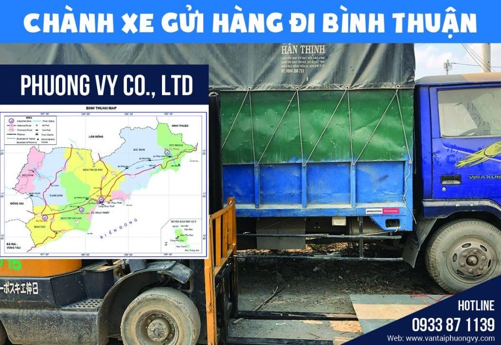 chành xe gửi hàng đi Bình Thuận
