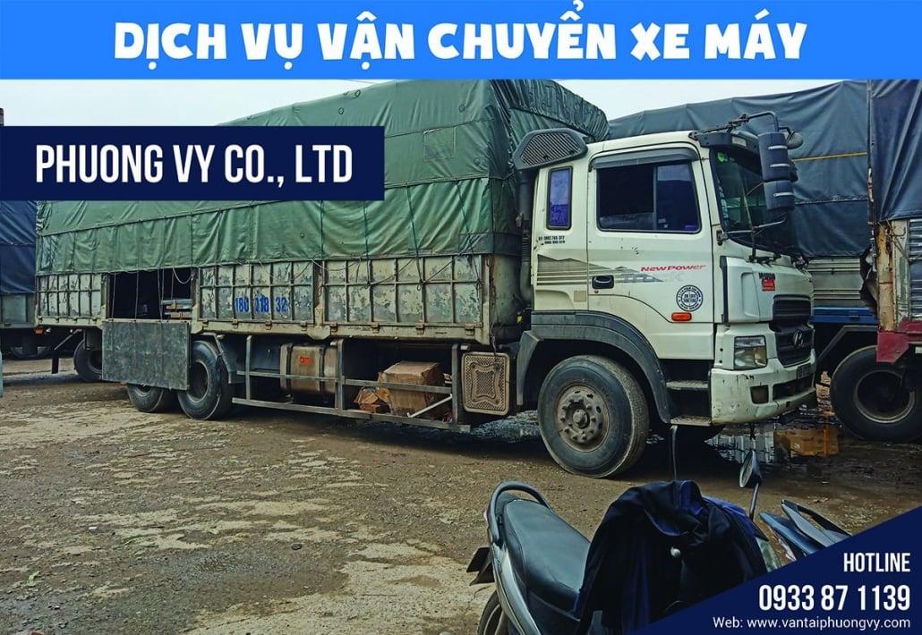 Dịch vụ vận chuyển xe máy