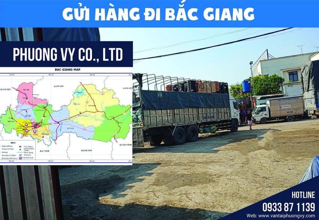 Gửi hàng đi Bắc Giang