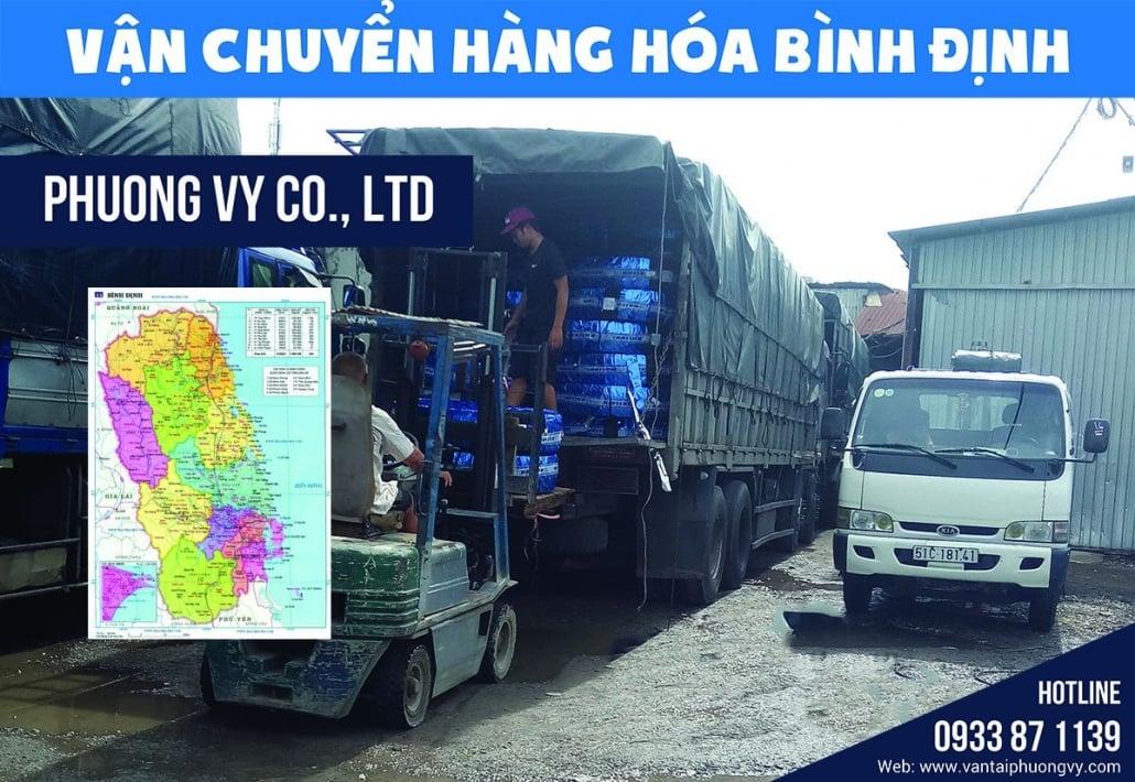 Gửi hàng đi Bình Định