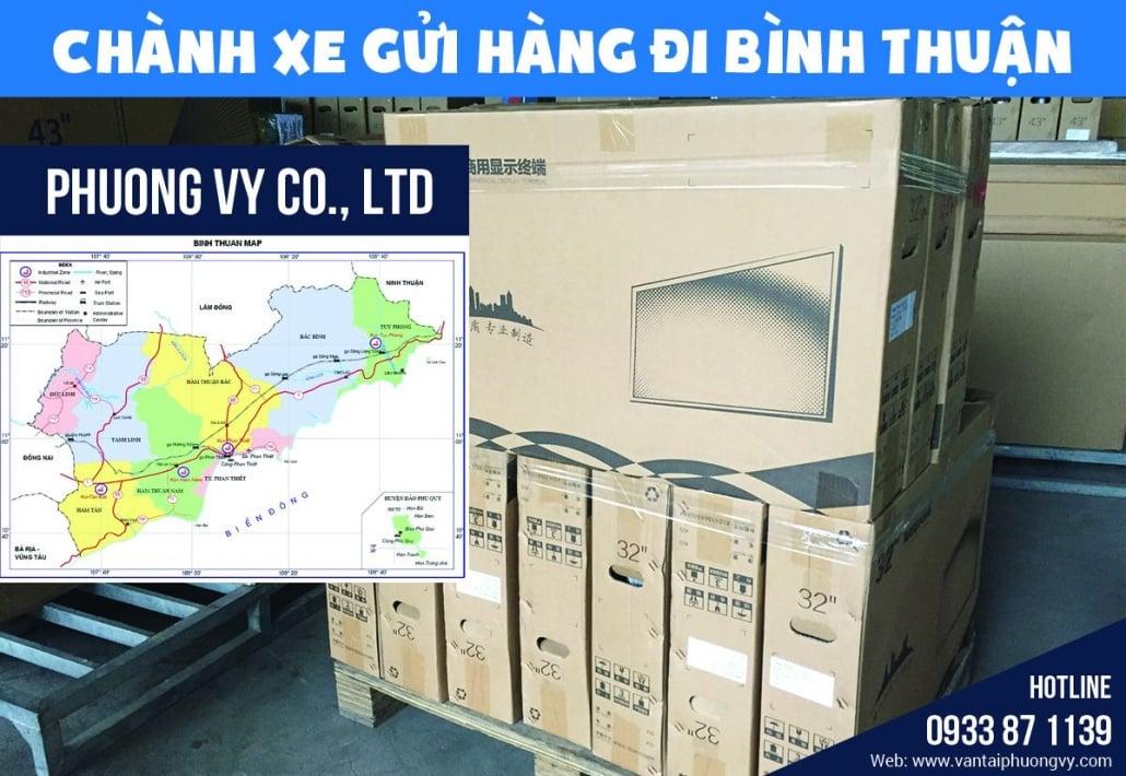 Gửi hàng đi Bình Thuận