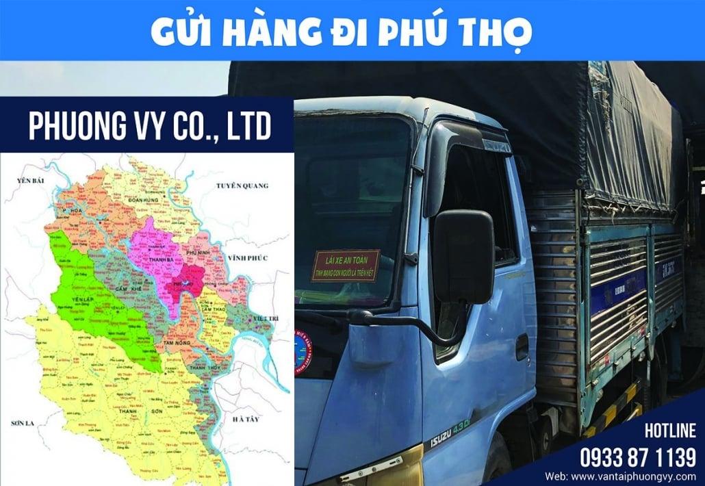 Gửi hàng đi Phú Thọ