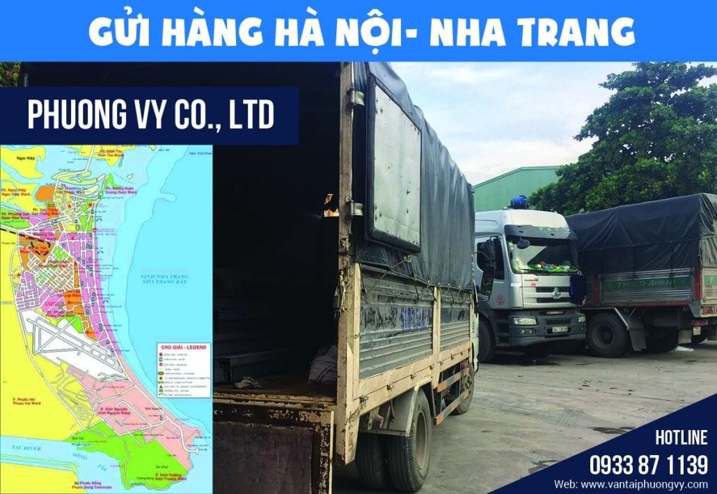 Gửi hàng Hà Nội Nha Trang