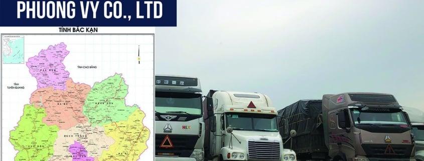 Vận chuyển hàng hóa Bắc Kạn