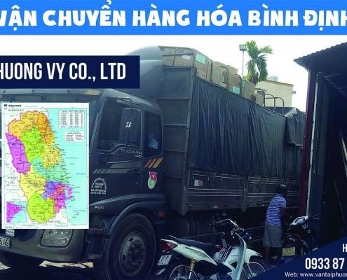 Vận chuyển hàng hóa đi Bình Định