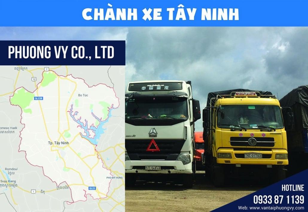 Vận chuyển hàng hóa đi Tây Ninh