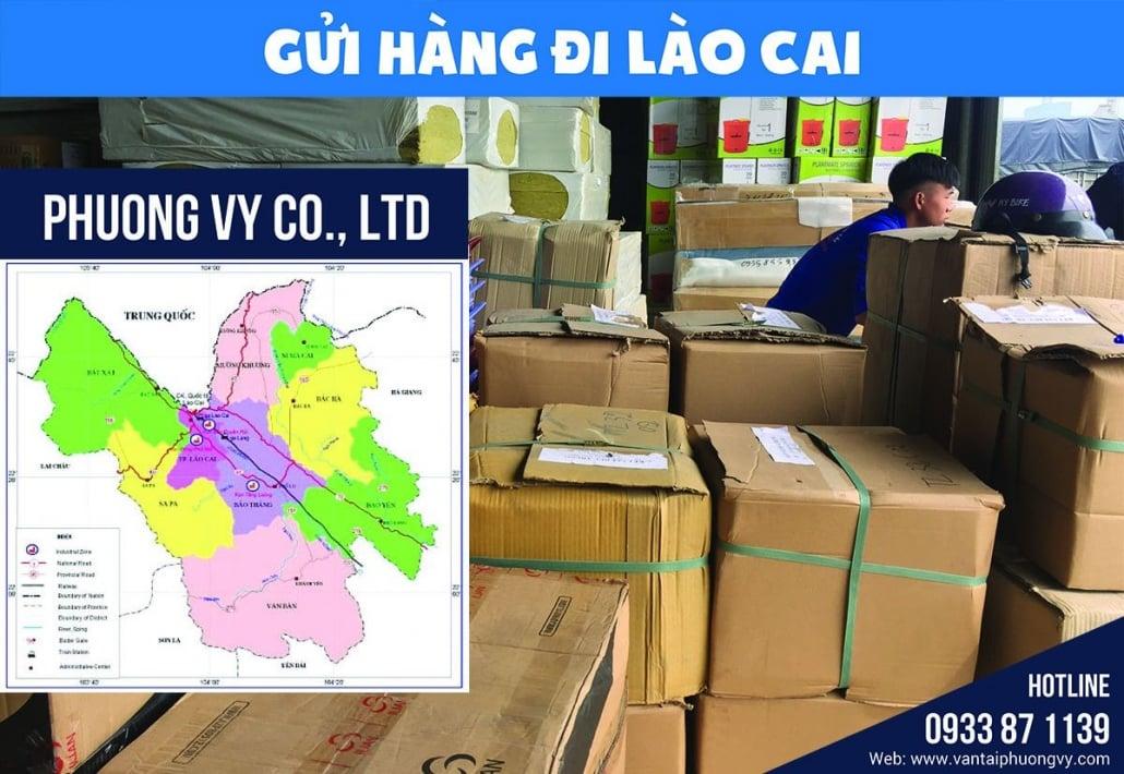 Vận chuyển hàng hóa đi Lào Cai