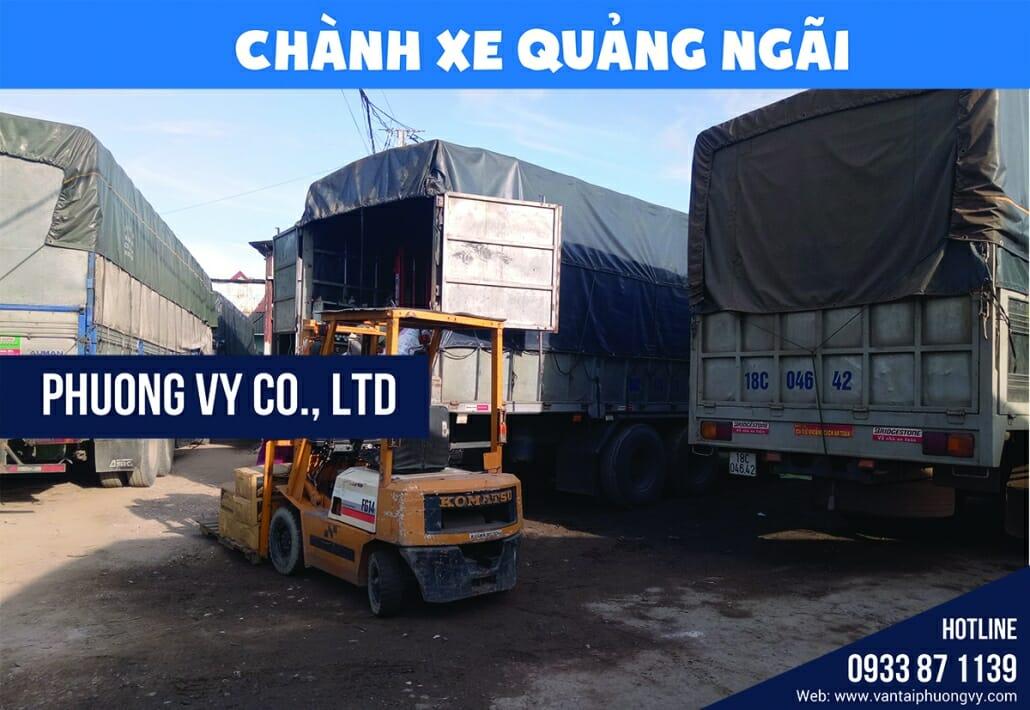 Vận chuyển hàng hóa Quảng Ngãi