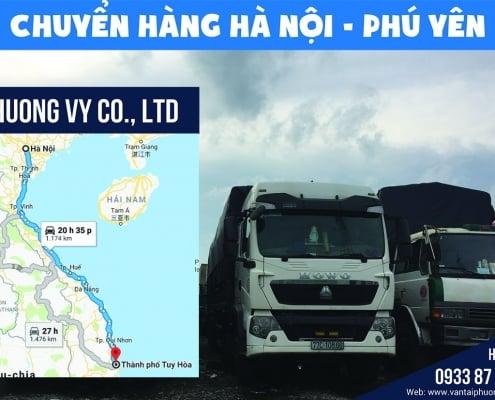 Vận chuyển hàng hóa từ Hà Nội đi Tuy Hòa Phú Yên