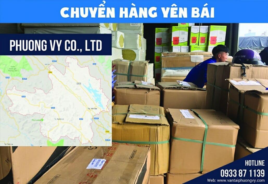 Vận chuyển hàng hóa Yên bái