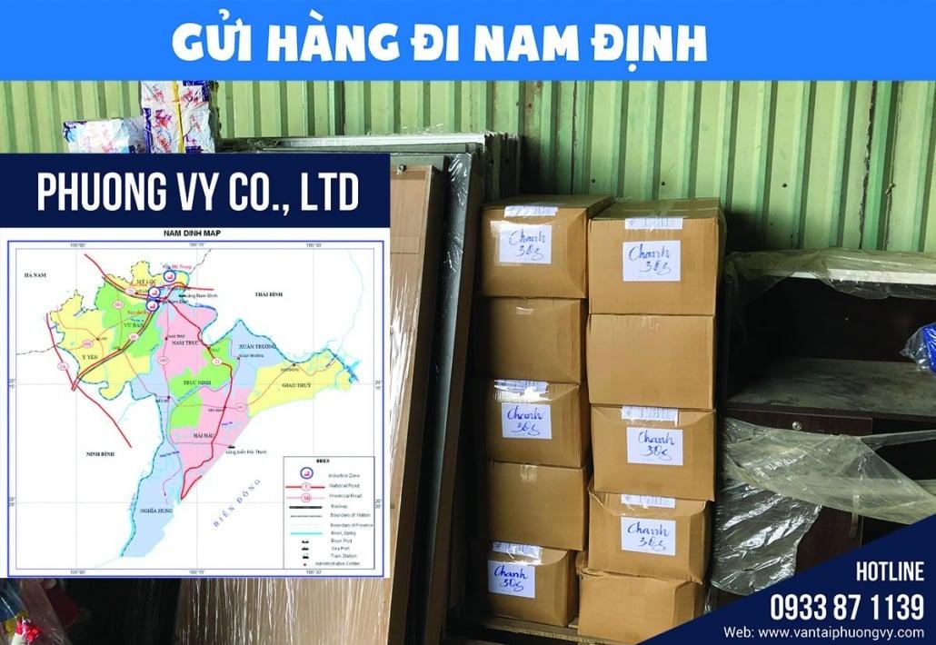 Chành xe gửi hàng đi Nam Định