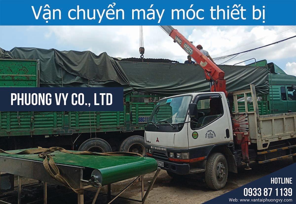Dịch vụ Vận chuyển máy móc thiết bị TPHCM
