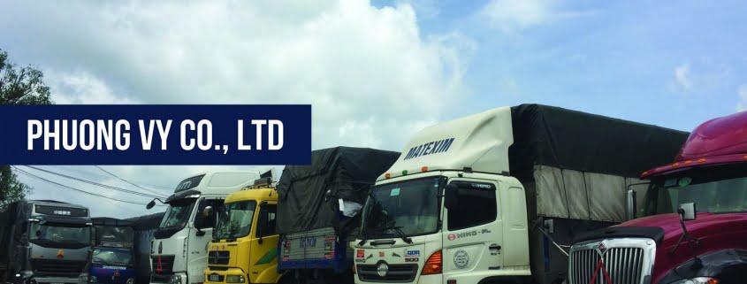 Các đầu xe tải cho thuê tại vận tải Phương Vy