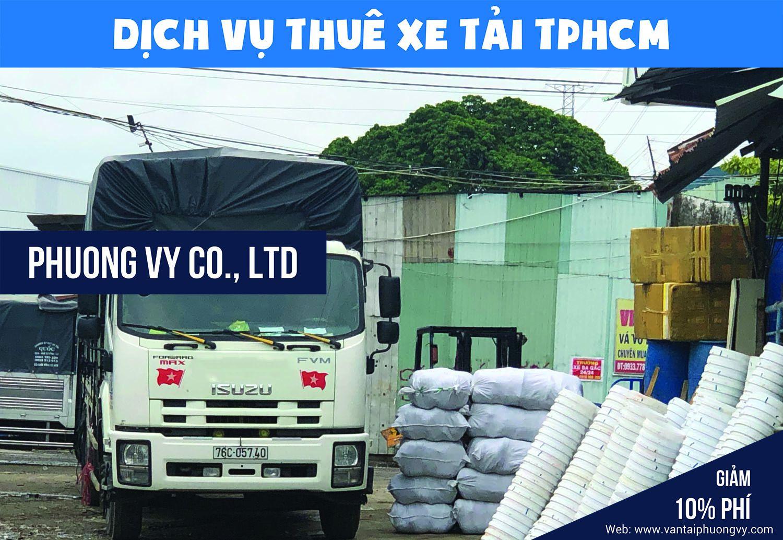 Cho thuê xe tải chở hàng tại TPHCM