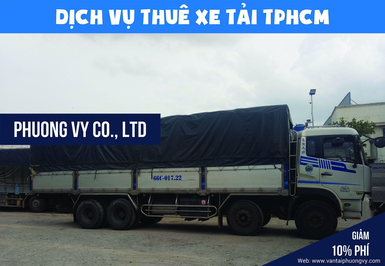Cho thuê xe tải vận chuyển hàng hóa tại TPHCM
