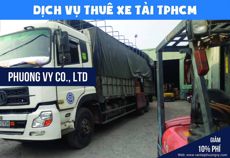 Thuê xe tải tự lái tại TPHCM