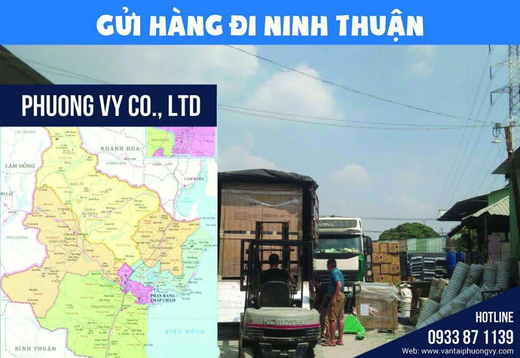 Chành xe Ninh Thuận