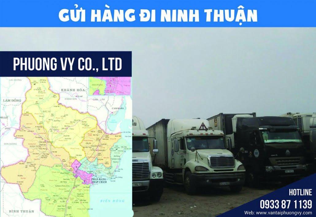 Vận chuyển hàng hóa Ninh Thuận